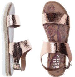 Roze Bullboxer espadrilles - sandalen - maat 38 - dames - rose - metallic