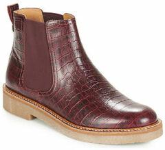 Bordeauxrode Boots en enkellaarsjes Oxfordchic by Kickers