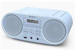 Afbeelding van Sony ZS-PS50 Radio/CD-speler FM AUX, CD, USB Blauw