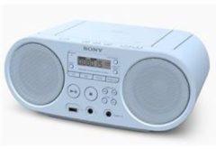 Sony ZS-PS50 Radio/CD-speler FM AUX, CD, USB Blauw