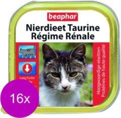 Beaphar Nierdieet Kat 100 g - Kattenvoer - 16 x Taurine