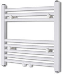 Witte VidaXL Design radiator 480 x 480 mm (curve model)