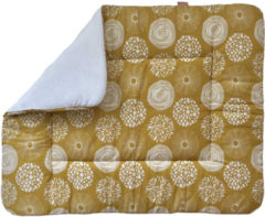 Gele Witlof for kids boxkleed 80x100 cm Sparkle Sweet honey/offwhite