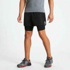 Dare 2b - Men's Recreate Quick Drying Gym Shorts - Outdoorbroek - Mannen - Maat M - Zwart