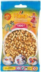 Hama strijkkralen goud, zakje met 1.000 stuks
