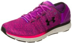 Rosa Charged Bandit 3 Laufschuh Damen Under Armour purple rave / penta pink / black