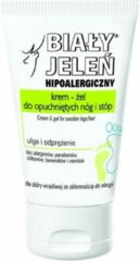 Biały Jeleń White Deer - Hypoallergenic Gel Cream For Swollen Legs And Feet Relief And Relaxation 100Ml
