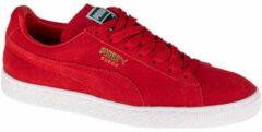 Bordeauxrode Lage Sneakers Puma SUEDE CLASSIC