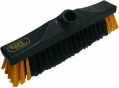 Gele Safe Brush kamerveger polyester 30cm bezem veegborstel