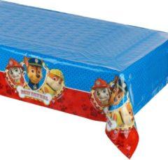 Trademark Rood en blauw Paw Patrol™ tafelkleed - Feestdecoratievoorwerp