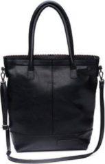 Zwarte Zebra Trends Natural Bag Kartel Rits Kunstleer Black