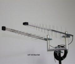 Wittenberg LAT 22 Duo Set Außenantenne für LTE 790-862 MHz