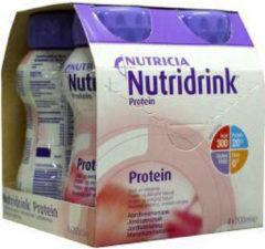 Nutridrink Protein aardbei 200 ml (4 Vitamine