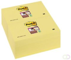 Post-it 655 Zelfklevende notes Blanco Geen 76 x 127 mm 70 g/m² 1 x 100 Vel