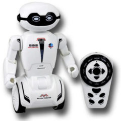 Silverlit RC robot Macrobot junior 9 x 7 x 20 cm wit 3-delig