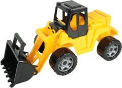 Lena Shovel Giga Trucks Junior 63 Cm Zwart/geel