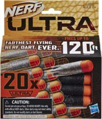 Oranje NERF Nerf Ultra Darts Refill navulling 20 stuks