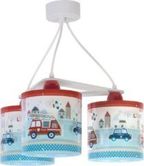 Rode Dalber Hanglampen Hulpdiensten 3 Stuks 20 Cm