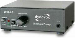 Dynavox UPR-2.0 USB platenspeler voorversterker - zwart