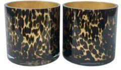Vase the World Celtic Cheetah Waxinelichthouder - 2 st.