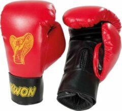 KWON Bokshandschoenen KIDS Cobra 6oz rood/zwart