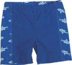 Playshoes - Kid's UV-Schutz Shorts Hai - Zwembroek maat 134/140, blauw