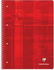 Clairefontaine Collegeblok 8256C Willekeurige kleur (geen keuze mogelijk) DIN A4 Gelijnd Aantal paginas: 80