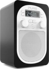 Pure Evoke D1 Kompaktes, portables Digitalradio mit UKW - schwarz