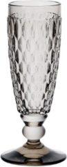 Grijze Villeroy & Boch Boston Boston coloured Champagneflute Smoke - 16 cm - 0,15 l