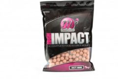 Oranje Mainline High Impact Boilies Diameter - 16 mm, Inhoud - 1 kg, Smaak - Salty Squid