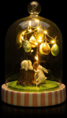 "Cottage Dreams LED-Cloche ""Ostern"""