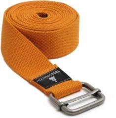 Oranje Yoga riem yogibelt - 260M orange Yoga riem YOGISTAR