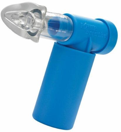Afbeelding van Blauwe PowerBreathe klassieke ademhalingstrainer - Ademhalingstrainers