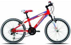 20 Zoll Legnano Twister Jungen Mountainbike Aluminium 12-Gang Legnano rot-blau-weiß