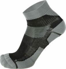 Skafit Sports korte zilversokken Grijs/Zwart Large (41-43)