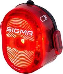 Zwarte Sigma Sport Sigma Nugget II Flash Fiets Achterlicht Fiets - Li-ion accu - USB oplaadfunctie