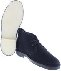 Zwarte Clarks Originals Desert Boot Black Boots veter-boots