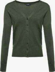 TwoDay dames vestje groen - Groen - Maat S