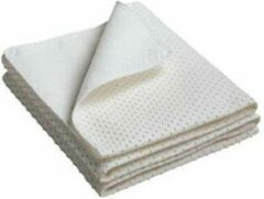 Witte Bed-Fashion Matrasdek met noppen 90 x 200 cm