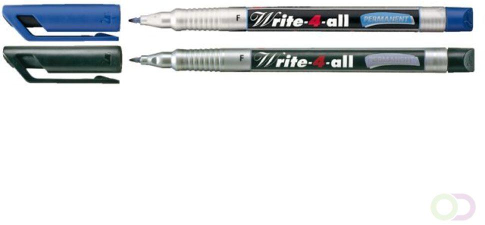 Afbeelding van Cd marker Stabilo Write-4-All 156/41 blauw fijn