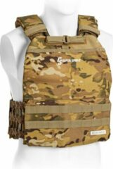 Capital_sports CAPITAL SPORTS Battlevest 2.0 gewichtsvest 2 x 8.75 lbs gewichten , hoog draagcomfort , waterafstotend 500 D polyester-mesh , camouflage