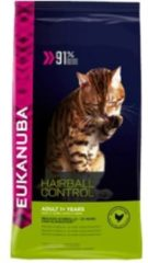 Eukanuba Cat Adult - Hairball Indoor - Kattenvoer - 2 kg