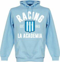 Retake Racing Club Established Hooded Sweater - Lichtblauw - L