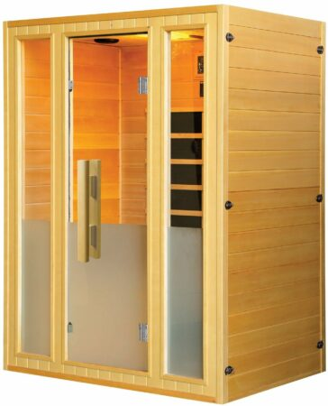 Afbeelding van Rode Sanotechnik Infrarood Sauna Calipso 142x107 cm 2000W 3 Persoons