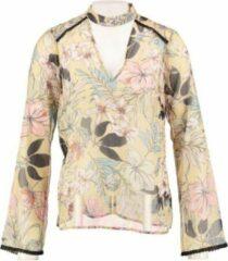Morgan transparante polyester blouse valt kleiner - Maat 38