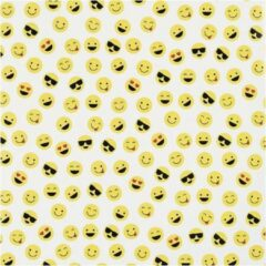 Inpakpapier, b: 57 cm, 80 gr, geel, wit, rood, zwart, 150m