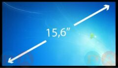 A-merk 15.6 inch Laptop Scherm EDP Slim 1366x768 Glossy LP156WHU-TPF1