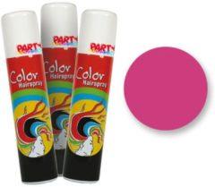 Fantasy Make up Roze Gekleurde Haarspray - Fantasy Make-up 75ml