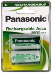 Panasonic Akku Rechargeable Power C P14P/2BC Panasonic Silber