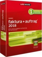 Lexware faktura+auftrag 2018 - Box-Pack (1 Jahr) + 1 Jahr kostenlose Upgrades 08871-0082
